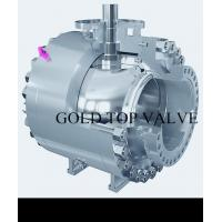 Quality API 6D Split Body Side Entry Ball Valve Trunnion Mounted Double Block and Bleed for sale