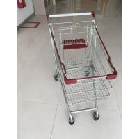 Buy cheap Wire Grocery Supermarket Shopping Carts Zinc Plating Clear Powder Coating from wholesalers