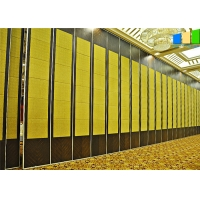 Wholesale Fabric Or Leather Cover Surfaces Sliding Partition Walls Room Divider For Hotel from china suppliers