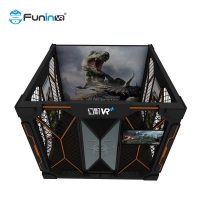 Wholesale 4-5 players  Interactive VR Theme park Multiplayer Virtual Reality Shooting Game Walking VR from china suppliers