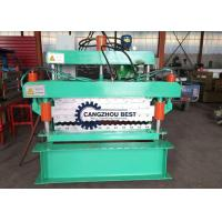 Wholesale Fast Metal Roofing Sheet Roll Forming Machine For Corrugated Steel Tile from china suppliers