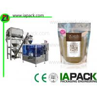 Wholesale Premade Pouch Powder Packaging Machinery Electric Control System from china suppliers