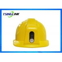 Wholesale 4G Wireless  Smart Safety Helmet Two Way Talkback IP66 Protection Level from china suppliers