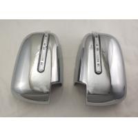 Buy cheap Pair Silver Side Door Mirror Cover With LED Signal Light For Mitsubishi Triton from wholesalers