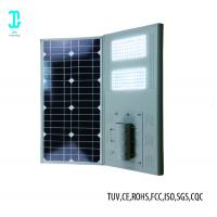 Wholesale 12 Watt 2400lm Solar Powered LED Street With Solar Panel 2 Years Warranty from china suppliers