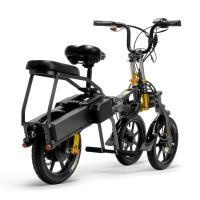 Wholesale Black Color Folding 3 Wheels Electric Road Scooter For Adults Street Legal from china suppliers