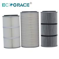 China Performance Industrial Cyclone Dust Collector Filter Cartridge / Silo Vent Filter on sale