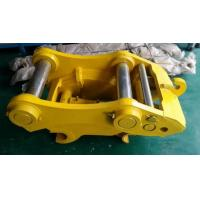 Wholesale Q345 Steel Excavator Quick Coupler , Hydraulic Quick Hitch For Mini Excavator from china suppliers
