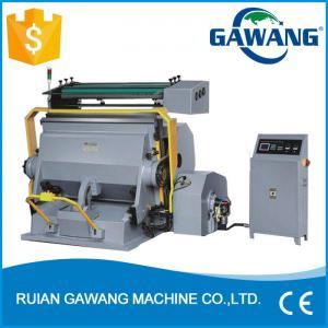 China Wenzhou ML Series Automatic Creasing & Die Cutting Machine on sale