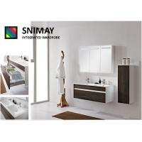 China Gloss Wall Mounted Bathroom Cabinets , Pull-out Shelves sink cabinet on sale