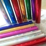 China 12Micron Hot Stamp Metallic Transfer Foil For Opp Film / UV Inked Paper on sale