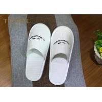 Buy cheap Washable Ultra Cosy Custom Hotel Slippers Waffle Slippers For 5 Star Hotel from wholesalers
