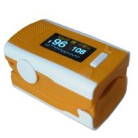 China 1.0 inch OLED Finger Pulse Oximeters with Pusle waveform bargraph display for oxygen bar on sale