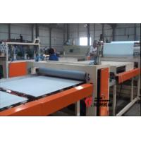 PVC Ceiling Tiles Gypsum Board Laminating Machine With Waterproof / Dust Proof