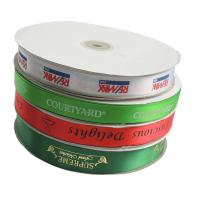 Wholesale Satin Custom Printed Ribbon 100% Polyester Material Multi - Color For Packaging Gift from china suppliers