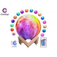 Wholesale Moon Lamp 16 RGB Colors 3D Night Light for Kids Bedroom Decoration Birthday Gifts from china suppliers