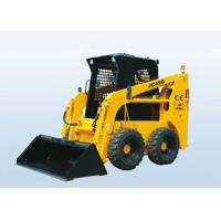 Wholesale 4 In 1 Bucket / Excavator Wheeled Skid Steer Loader Engine Power 50 Horsepower from china suppliers