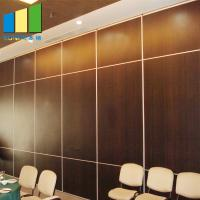 Wholesale Collapsing Sliding Doors Acoustic Partition Walls For Classroom 600 Width from china suppliers