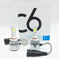 China LED Headlight Bulbs JALN7 C6 LED Conversion Kits Extremely Super Bright H1/H4/H7/H11/9005/9006 36W 3960lm on sale