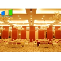 Wholesale Hotel Room Divider Folding Door Divider Customized Color Movable Partition Wall For Interior Design from china suppliers