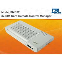 Wholesale Relay And VPN 32 Channel Gsm Sim Card Bank High Performance / DBL from china suppliers