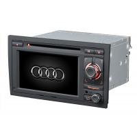 China AUDI A4 ST-8604 Italian, German DIVX, CD-R, WMA Audi Car DVD Player With Virtual 6 Disc Charger on sale