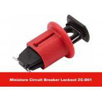 Wholesale 7G POS Red Effective Nylon PA  Miniature Circuit Breaker Lockout from china suppliers