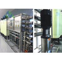 High Performance Commercial Ro Water Purifier For Salt Water SS304 Frame Material