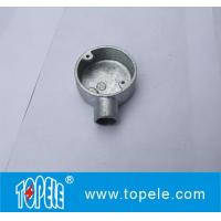 Wholesale TOPELE BS4568 / BS31 Malleable Iron / Aluminum One Way Terminal Electrical Conduit Circular Junction Box from china suppliers