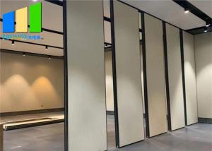 Wholesale Modern Acoustic Movable MDF Wood Folding Partition Walls For Restaurant Room from china suppliers