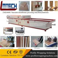 China furniture mdf tv cabinet vacuum membrane press machine on sale