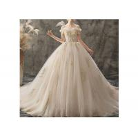 Wholesale Bridal Vintage Princess Ball Gowns Lace , Tulle , Inside Lining Fabric from china suppliers