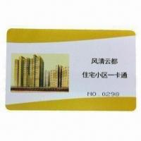 China PVC Card Printing, Made of Germany Good-quality Machine, with 125KHz Frequency on sale
