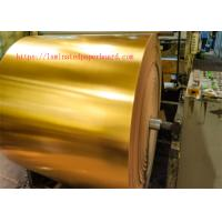 Wholesale Gold Foil Paper for Printing/Metallic Paper Roll for Gift Card/Christmas Cards from china suppliers