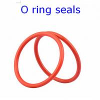 Buy cheap ACM 70 Rubber O Ring Seals For Connector , Colored Orings Wear Resistant from wholesalers