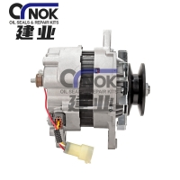 Wholesale 24V 50A Mitsubishi 4D33 4D34 Engine Alternator For Excavator Parts ME150143 A4T66786 A4TU6584 ALH0260SK 1-3627-25W from china suppliers