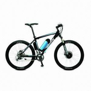 26-inch Electric Sports Bike with 250W 8Fun Motor, 36V/9Ah Li-ion, 25kph Max Speed, 60km per Charge