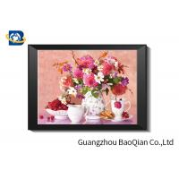 Wholesale Eco - friendly Flowers 3D Lenticular Pictures For Home Decoration A3 A4 Size from china suppliers