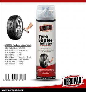 Buy cheap AEROPAK Hot sale Aerosol Puncture Tyre Repair Tyre Sealer&Inflator for car from wholesalers