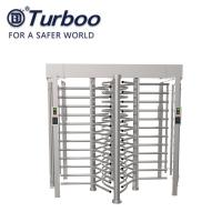 Wholesale RFID Reader Full Height Turnstile , SUS304 240V Security Turnstile Gate from china suppliers