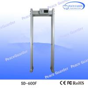 China 2020 Anti Coronaviru COVID-19 Alarming security door frame walk through metal detector on sale