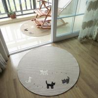 China Anti-Slip Washable Floor Mat With Cat Logo Floor Covering Carpet From Carpets Factory on sale