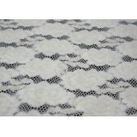 Anti Static Fabric : Jacquard brushed lace anti static fabric with cm width