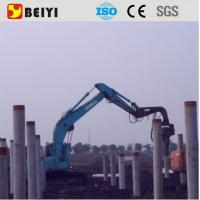 Wholesale Excavator used pile driving equipment, hydraulic vibratory pile hammer from china suppliers