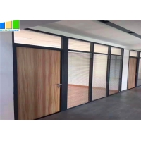 Wholesale EBUNGE Office Partition Modular Aluminum Tempered Full Height Glass Partition Wall For Office Fit Out from china suppliers