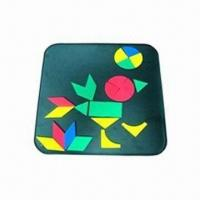 Wholesale EVA Magnetic Mosaic Set, Customized Shapes and Colors are Welcome from china suppliers