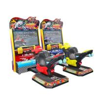 China Indoor 42'' Lcd TT Racing Motor Arcade Game Machine For Child 5~12 Years Old on sale