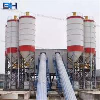Wholesale Low Energy Consumption Concrete Batching Plant , Space Saving Cement Mixing Plant from china suppliers