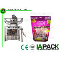 Candy Premade Pouch Packing Machine Rotary Preformed Fill Seal Bagging