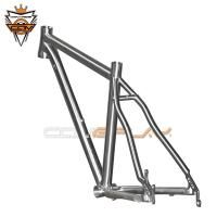 Buy cheap Ultra Light Titanium MTB Frame 29er 27.5er 26er With Inner Cable Routing from wholesalers